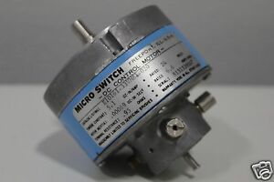Micro Switch Dc Control Motor E10161 33vm81 020 Free Expedited Shipping