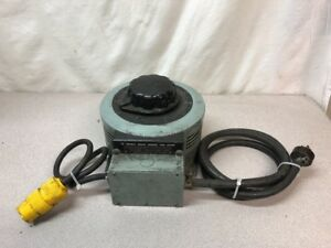 Superior Powerstat Type F136 Variable Autotransformer In 120v Out 0 140v 20a