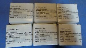 6 Hager Small Format Ic Core Sfic Best A Keyway Keyed With 2 Operations Keys