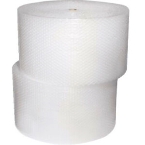 500ft 1 2 Large Bubble Cushioning Material Wrap 2 Rolls 24x250ft Free Shipping