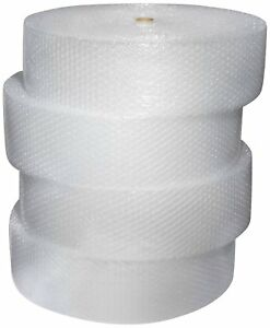1000ft 1 2 Large Bubble Cushioning Material Wrap 12x250ft 4 Rolls Free Shipping