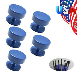 Us 5 Magnetic Round Dental Lab Bur Burs Block Holder Holders Station Burs Drill