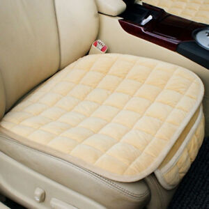 Monolithic Single Front Row Car Seat Cushion Cover Pad Breathable Comfort Common