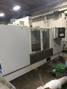 Fadal 6030 Cnc Vmc 3 Probes 5 Axis Coolant Through Spindle