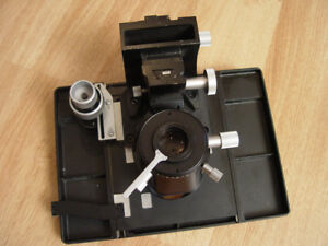 Leitz Microscope Stage Table