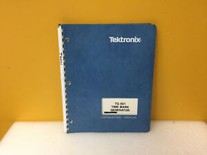 Tektronix 070 1576 02 Tg501 Time Mark Generator Instruction Manual