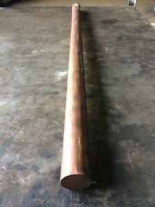 Copper 642 Round Bar 1 25 X 30 625 Long