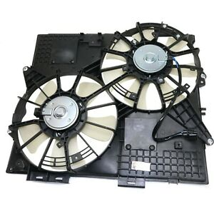 Radiator Cooling Fan For 2008 Cadillac Cts 2004 2008 Srx
