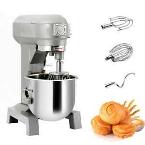 15qt Multifunctional Commercial Dough Food Mixer Gear Driven Bakery Blender