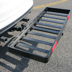 Aluminum steel Folding Receiver Hitch Cargo Carrier 50 X 20 Strong