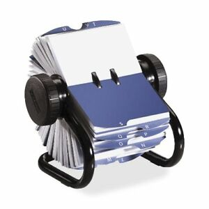 Rolodex Rotary Business Card File 400 Business Card 24 Printed rol67236