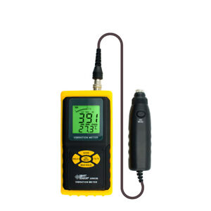 Digital Precision Vibration Meter Tester Vibration Gauge Analyzer Dhl Ship