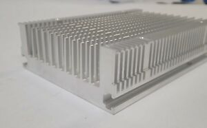 Aluminium Heat Sink 180mm X 120mm X 45mm Base 17 5mm With 4 Mounting Holes