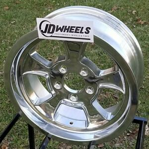 Jd Wheels 15x6 Halibrand Replica 612 5x4 5 3 75 Bs Ford Mopar Hot Rod Gasser