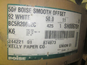 Roll Of Paper For Web Press