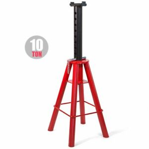 10 Ton Jack Stand 18 1 2 To 30 Inch High Jack Stand Capacity Suv Rv Trailer