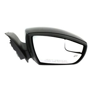 Power Mirror For 2015 2016 Ford Focus Right Side Heated Manual Fold Paintable