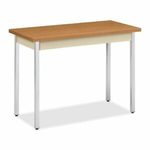 Hon Utm2040 Utility Table Rectangle 40 X 20 X 29 utm2040clchr