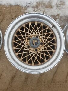 Wheel 16x8 Aluminum Gold Diamond Spoke Rear Fits 86 87 Firebird 199507