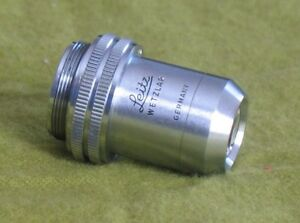 Leitz Wetzlar 170 2 5 0 07 Microscope Objective Lens Made In Germany