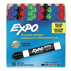 Expo Low odor Dry erase Chisel Tip Markers Chisel Marker Point Style