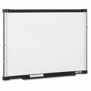 Lorell Magnetic Dry erase Board 36 Width X 24 Height Aluminum Steel Frame