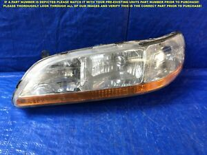 Oem 1998 1999 2000 2001 2002 Honda Accord Driver Left Headlight