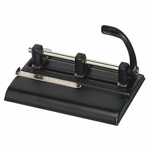 Master 1000 Series Three hole Punch 3 Punch Head s 40 Sheet Capacity