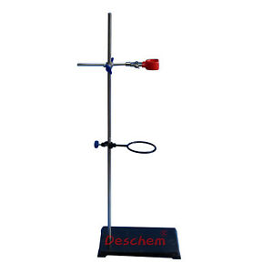 80cm Laboratory Stands support Lab Clamp pole 800mm 400mm 400mm