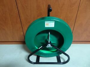 Greenlee 542 200 Fiberglass Fish Tape Wire Puller With Reel Stand