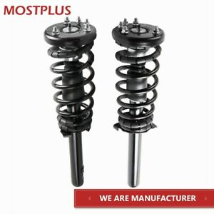 2x Front Complete Struts Springs Assembly For 1998 2002 Honda Accord