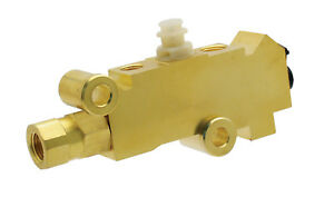 Pv2t Replaces Gm 25509419 Disc Drum Combo Proportioning Valve Brass