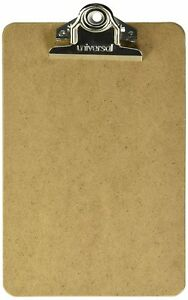 24 Advantage Hard Board Clipboard With High Capacity Clip Memo Size 6 X 9 Of