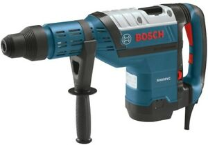 Bosch Sds Max Rotary Hammer Drill Corded Tool Carrying Case Side Handle 13 5 Amp