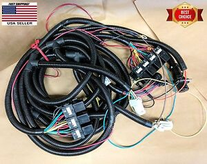 Hiniker Snow Plow 4 6 Function Wiring Harness Underhood Cpc Connector 38813097