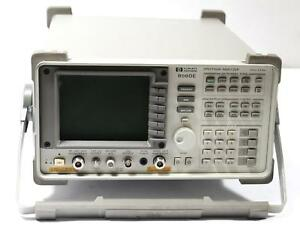 Agilent Hp 8560e 30hz 2 9ghz Spectrum Analyzer W Tracking Generator For Parts