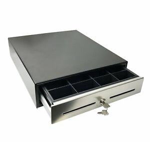Angel Pos 14 Pos Cash Drawer With Stainless Steel Front Cash Register Till Draw
