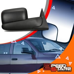 Right Side Powered Adjustment Towing Camper Mirror W Heated For 02 09 Dodge Ram