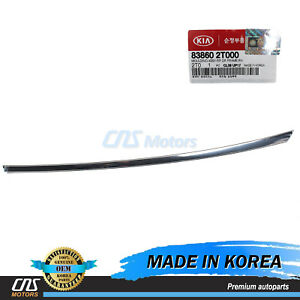 Genuine Door Frame Molding Chrome Rear Right For 11 16 Kia Optima 838602t000