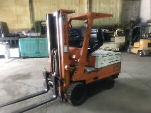 Toyota Electric Lift Truck 4520 Sideshift 3 Stage