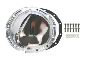 Chrome Steel Chevy Gm 12 Bolt Differential Cover For 8 7 8 Inch Ring Gear