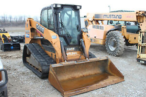 2014 Case Tr320 Compact Rubber Track Loader Skid Steer Ready To Work