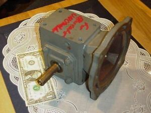 Browning Worm Gear Speed Reducer 133q56l5a Ratio Is 5 To 1 Input 1 11 Hp New