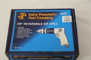 Astro Pneumatic 3 8 Reversible Pneumatic Air Drill 525c New