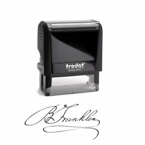 Signature Stamp Customizable Signature Stamp Personalized Self inking Stamps