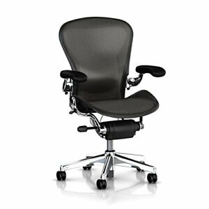 Herman Miller Executive Aeron Task Chair Highly Adjustable W posturefit Lumbar