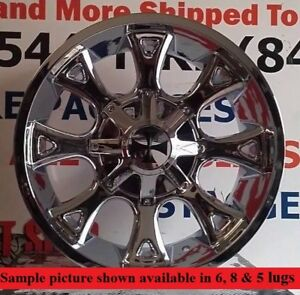 4 New 20 Wheels For Dodge Ram 1500 2001 2002 2003 2005 2005 2006 Rims 1916