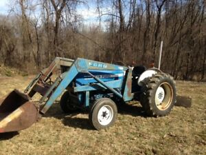 Ford 3600 Two Wheel Diesel Tractor