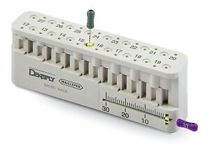 5 X Dentsply Mini endo bloc Endo Measuring Block