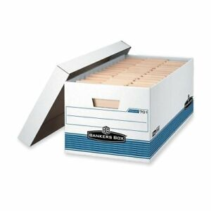 Bankers Box Stor file Letter Lift off Lid Taa Compliant fel00701